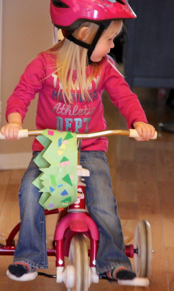 Princesse sur son vélo